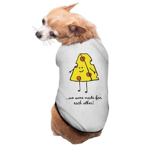 Lovely Pet Supplies Cheesy Best Friends 2 Dog Dress