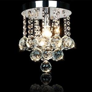 60 Modern Crystal Chrome Crystal Chandeliers Pendant Lights 110-120V