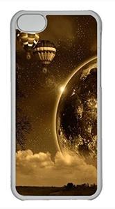 iPhone 5c case, Cute Night Sepia iPhone 5c Cover, iPhone 5c Cases, Hard Clear iPhone 5c Covers