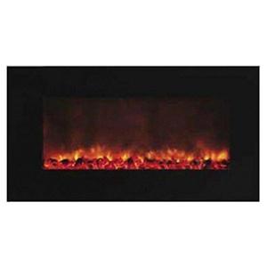 Yosemite Home Decor Wide Screen Wall-Mounted Electric Fireplace