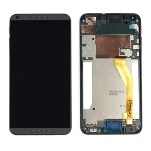 Black LCD Display+Touch Screen Digitizer Assembly+Frame HTC Desire 816 D816
