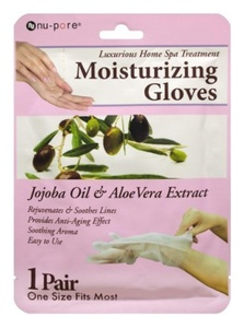 Nu-Pore Moisturizing Gloves, Case of 24 by nu-pore