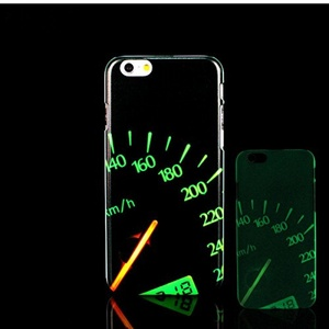 For iPhone 7 Plus Case, Glow in the Dark Fun Pattern TomCase Fluorescent Back Cover for iPhone 7 Plus Case 5.5 inch, P8