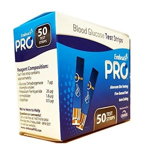 Embrace PRO Blood Glucose Test Strips(150 Count)