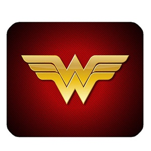 Rectangle Non-Slip Mouse Mat Gaming Computer Mouse Pad Wonder Woman Pattern.
