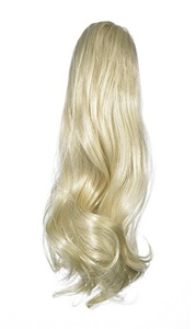 Love Hair Extensions Victorian Crocodile Clip Ponytail. Colour 24 - Sunlight Blonde by Love Hair