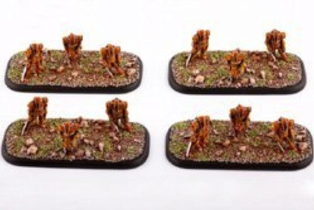 Dropzone Commander Shaltari Firstborns (4 Bases) by Dropzone Commander