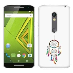 Motorola Moto X Play XT1562 Droid MAXX 2 XT1565 Case, Fincibo (TM) Back Cover Hard Plastic Protector, Dream Catcher