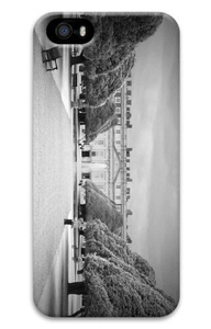 iPhone 5S Case Customized Unique Print Design Hampton Court Palace Bw iPhone 5 5S