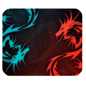 DreamOffice-Custom Dragon Mouse pad Gaming Mouse Mat Cloth Cover Support Wired Wireless or Bluetooth Mouse,9.84