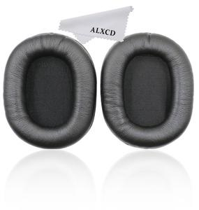 ALXCD Earpad for Audio-Technica ATH-M50 Headphone, 2 Pcs Soft Foam Replacement Earpad Ear Pad Ear Cushion, Fit for Audio-Technica ATH-M50 ATH-M50s ATH-M50x ATH-M40 ATH-M30 Headphone (Black)