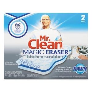 Mr Clean Magic Eraser Kitchen Scrubber, 2 Count by Mr. Clean