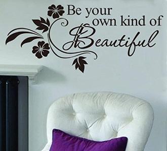 Wall Decor, MOONHOUSE 31x65cm Warm Words Wall Stickers Home Decor