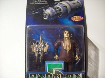 Babylon 5 Vir Cotto with Centauri Republic Warship by Babylon 5
