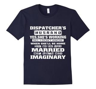 Men's Dispatchers Husband T-Shirt Large Navy