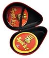 FitSand (TM) Zipper Carry Travel EVA Hard Case for Spot It Card Game - Black Box, Blacker Box, Best Protection for Spot It Cards