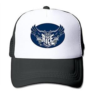 Adult Rice University Snapback Baseball Cap Outdoor Sports Mesh Hat