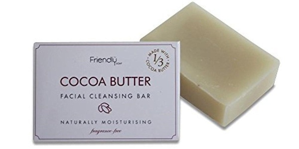Friendly Soap Natural Handmade Cocoa Butter Facial Bar by Friendly Soap