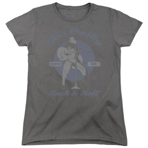 Elvis Presley - Rock & Roll - Women's Cap Sleeve T-Shirt - 2XL