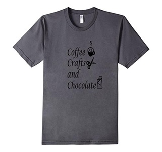 Men's Coffee, Crafts and Chocolate. 3XL Asphalt