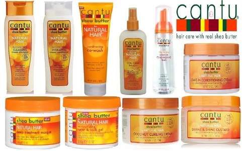 Cantu Shea Butter Natural Hair SUPER COMBO Sulfate Free 10pcs Set Shampoo, Condit., Leave in Foam, Coil Dtangler, Coconut Cream, Twist Gel, Masque, Liv-in Cream, and Define Custard