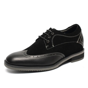 CHAMARIPA Height Increasing Shoes 2.76'' Taller Brogue Dress Casual Elevator Shoes L52335K103D