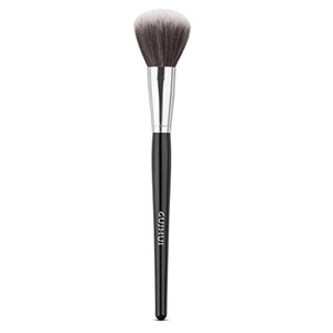 Easydeal Cosmetic Powder Blush Brush Foundation Makeup Brush Blending Highlight Contour Face Eye Shadow Brush (1Pc Silver)