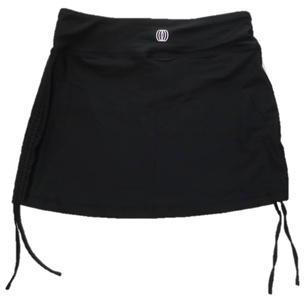 Balance Women's Black Swim Cover-Up Skirt (S)