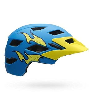 Bell Helmet Side Track Child 16 Multi-Coloured blue Size:One Size by Bell