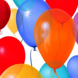 Birthday Balloons Beverage Napkins by 30th Birthday Balloons 2ct
