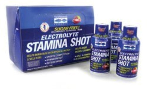 Electrolyte Stamina Shot - Berry 12/2 fl oz Bottle(S) by Trace Minerals Research