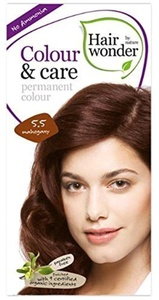 Hair Wonder Colour & Care Mahogany 5.5 100 ML (order 6 for trade outer) by Hairwonder by Nature