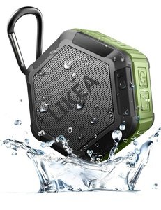 LIKEA Waterproof Sport Speaker,Ultra Portable Wireless Bluetooth Speaker with More Bass, IP67 Waterproof, NFC Pairing, 12 Hours Playtime, Clear Sound, for Outdoor, Shower, Home