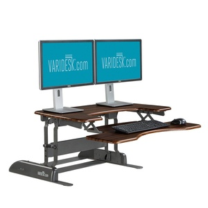 Height-Adjustable Standing Desk - VARIDESK Pro Plus 36 - Darkwood