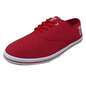 Henleys Men's Stash Canvas Pumps Sneakers Red US 13