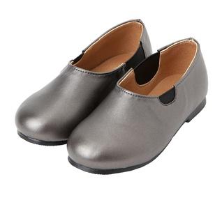 Ozkiz Girls Flats Kidney Bean Mary Jane Shoes Little Kids & Toddler Grey Size 9M