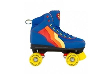 Rio Roller Classic II Disco Roller Skates - Blueberry - UK8 by Rio Roller