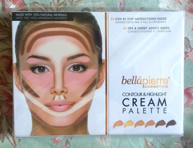 Bella Pierre Cosmetics Contour & Highlighting Cream Palette.