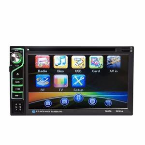 Boddenly 6.2'' HD 2DIN Bluetooth Touchscreen CD DVD Car Stereo MP3 MP5 Player AUX FM Radio USB SD