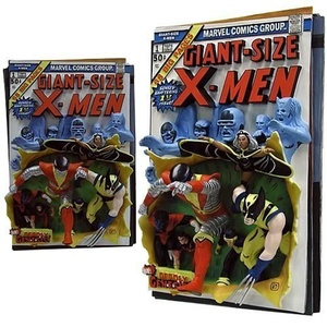 Code 3 - Giant Size X-Men Resin 3D-Poster First Apperance Comic Cover by Code 3