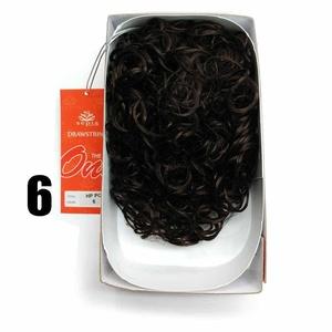 Sepia Drawstring Hair Pony Tail & Hair Extension 6 Medium Brown