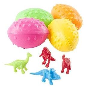 2 Dz Dinosaurs Eggs with Mini toy Dinosaur figures Inside - 24 Per Order by Dinosaur Eggs