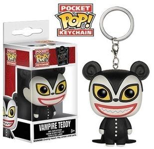 The Nightmare Before Christmas Vampire Teddy Pocket Pop! Keychain by The Nightmare Before Christmas