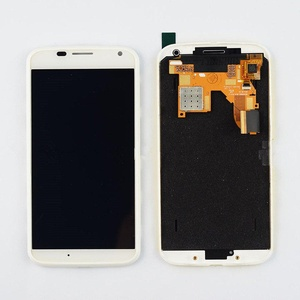 White Motorola Moto X XT1060 XT1058 XT1056 LCD Display Touch Screen Assembly