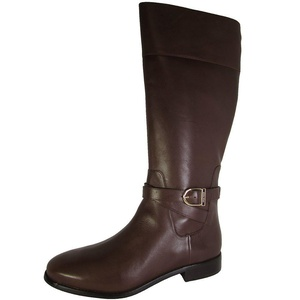 Cole Haan Womens Catskills Boot II Tall Riding Shoes, Chestnut Leather, US 6