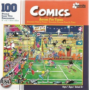 Paper City Puzzles Comics: Anyone For Tennis by Comics