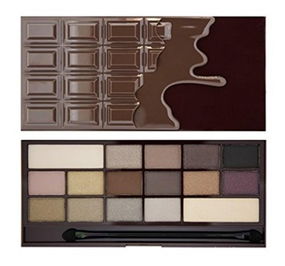 I Heart Makeup Revolution Eyeshadow Palette Death By Chocolate by Makeup Revolution London