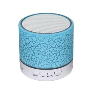 Koogogo A9 Wireless Bluetooth Speaker Mini Portable with Colorful LED Light and Build-in Mic, Support USB/AUX/TF/SD Card