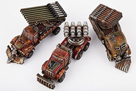 Dropzone Commander Resistance Storm Wagons (3 Figures) by Dropzone Commander