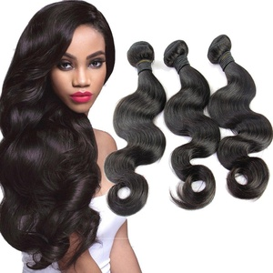 Sexy Girl Hair 18 20 22inch Brazilian Body Wave Weft 3bundles 100% Real Unprocessed Virgin Brazilian Human Hair Extensions Natural Black Color